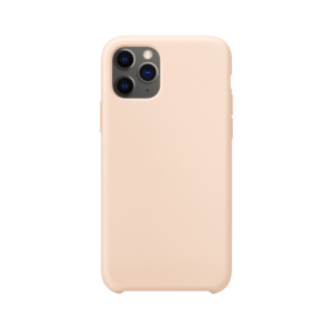 iPhone 11 Pro Max siliconen hoesje - pink sand