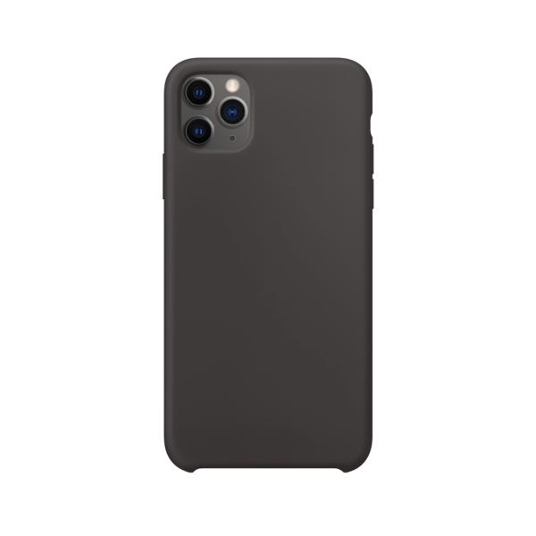 iPhone 11 Pro siliconen hoesje - zwart