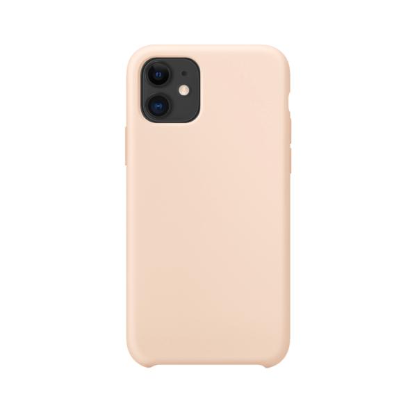 iPhone 11 siliconen hoesje - zwart