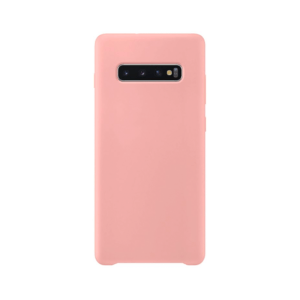 Samsung Galaxy S10 siliconen hoesje - pink sand