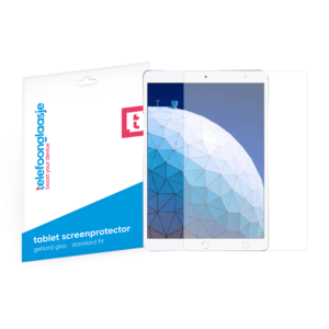 iPad Air 3 screenprotector tempered glass van Telefoonglaasje§