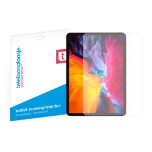 iPad Pro 2020 screenprotector tempered glass van Telefoonglaasje
