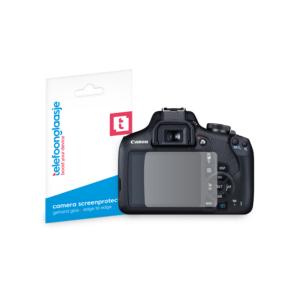 Canon EOS 2000D screenprotector tempered glass van Telefoonglaasje