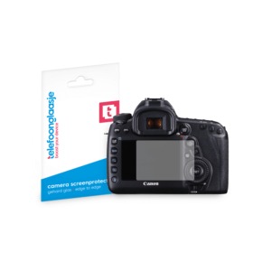 Canon EOS 5D screenprotector tempered glass van Telefoonglaasje