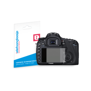 Canon EOS 7D screenprotector tempered glass van Telefoonglaasje
