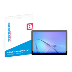 Huawei MediaPad T3 screenprotector tempered glass van Telefoonglaasje