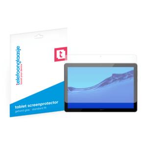 Huawei MediaPad T5 screenprotector tempered glass van Telefoonglaasje