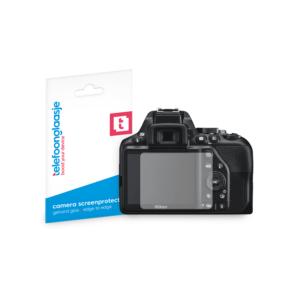 Nikon D3500 screenprotector tempered glass van Telefoonglaasje