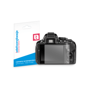 Nikon D5300 screenprotector tempered glass van Telefoonglaasje
