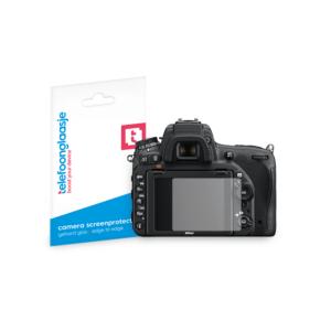 Nikon D750 screenprotector tempered glass van Telefoonglaasje