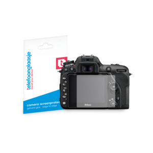 Nikon D7500 screenprotector tempered glass van Telefoonglaasje