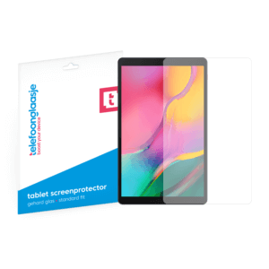 Samsung Galaxy Tab A 10.1 Inch screenprotector tempered glass van Telefoonglaasje