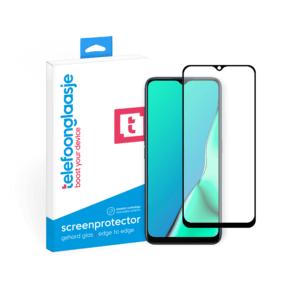 Oppo A9 (2020) screenprotector van gehard glas