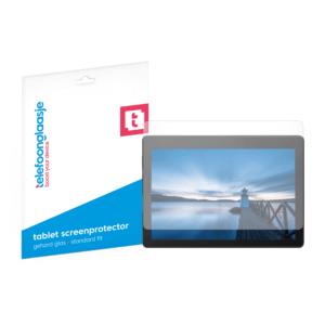 Lenovo Tab E10 screenprotector tempered glass van Telefoonglaasje