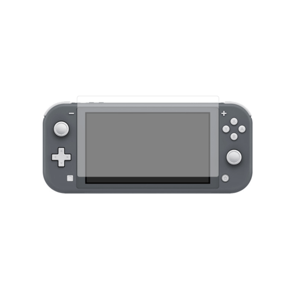 Nintendo Switch Lite Screenprotector op scherm