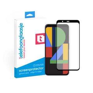 Telefoonglaasje Google Pixel 4 screenprotector van gehard glas