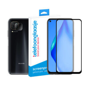 Huawei P40 Lite screenprotector met camera screenprotector