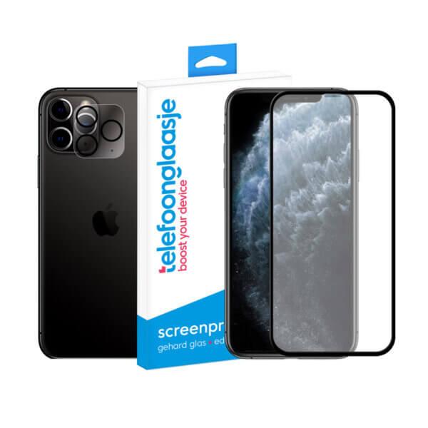iPhone 11 Pro screenprotector met camera screenprotector