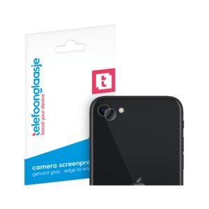 iPhone SE (2020) camera screenprotector gehard glas - Telefoonglaasje
