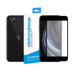 iPhone SE (2020) screenprotector met camera screenprotector