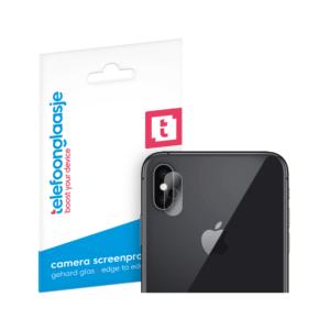 iPhone X camera screenprotector gehard glas - Telefoonglaasje