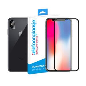 iPhone X screenprotector met camera screenprotector