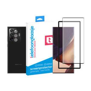 Samsung Galaxy Note20 Ultra screenprotector met camera screenprotector