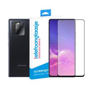 Samsung Galaxy S10 Lite screenprotector met camera screenprotector