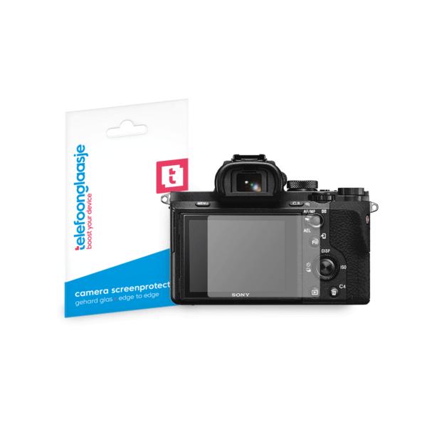 Sony Alpha A7 II screenprotector tempered glass van Telefoonglaasje