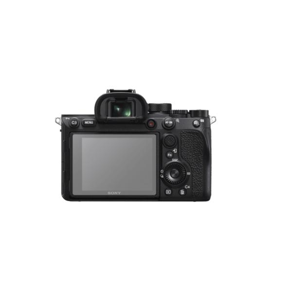Sony Alpha A7R IV Screenprotector op scherm