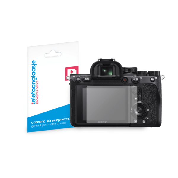 Sony Alpha A7R IV screenprotector tempered glass van Telefoonglaasje