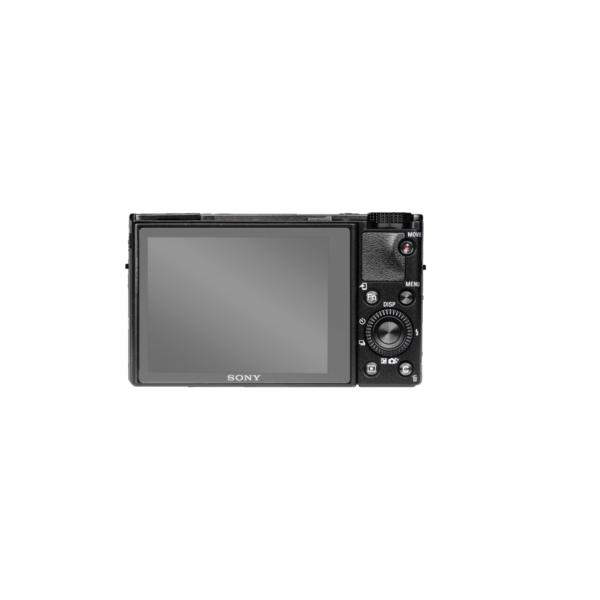 Sony RX100 III Screenprotector op scherm