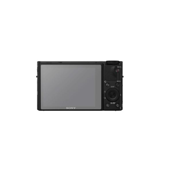 Sony RX100 IV Screenprotector op scherm