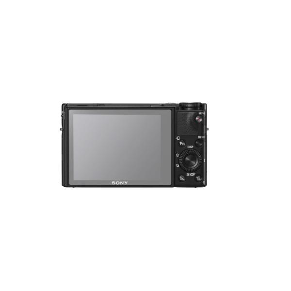 Sony RX100 V Screenprotector op scherm