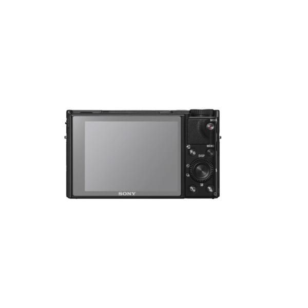 Sony RX100 VI Screenprotector op scherm