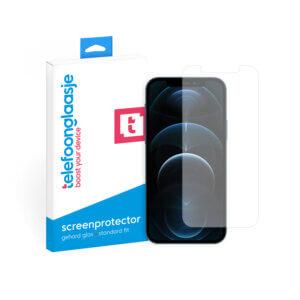 Phone 12 Pro Max screenprotector van gehard glas