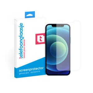 Telefoonglaasje iPhone 12 Max screenprotector van gehard glas