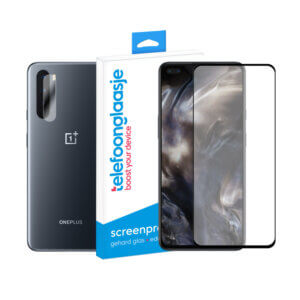 OnePlus Nord screenprotector met camera screenprotector