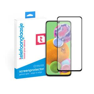 Telefoonglaasje Samsung Galaxy A90 screenprotector van gehard glas