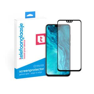 Telefoonglaasje Honor 9X Lite screenprotector van gehard glas