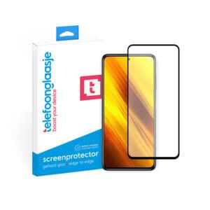 Telefoonglaasje Xiaomi Poco X3 screenprotector van gehard glas