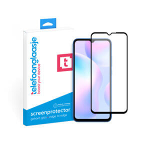 Telefoonglaasje Xiaomi Redmi 9A screenprotector van gehard glas