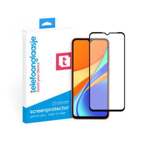 Telefoonglaasje Xiaomi Redmi 9C screenprotector van gehard glas