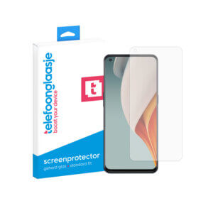 OnePlus Nord N100 screenprotector tempered glass