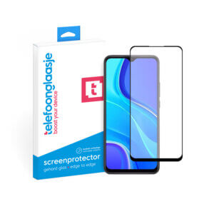 Xiaomi Redmi 9 screenprotector tempered glass