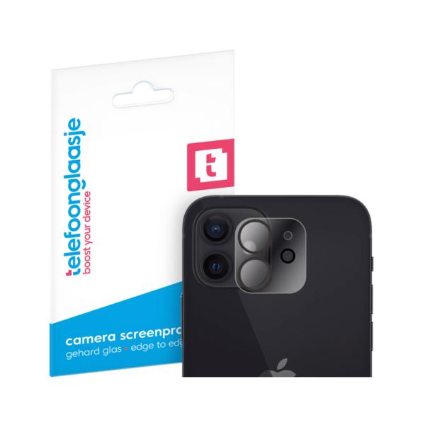 iPhone 12 camera screenprotector gehard glas - Telefoonglaasje