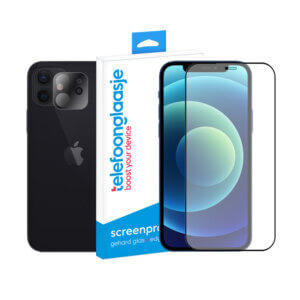 iPhone 12 Mini screenprotector met camera screenprotector