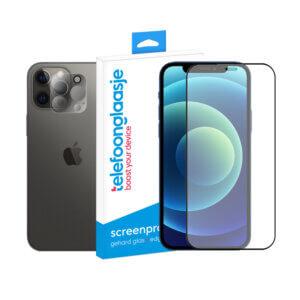 iPhone 12 screenprotector met camera screenprotector