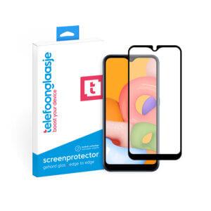 Samsung Galaxy A02s screenprotector met verpakking Telefoonglaasje