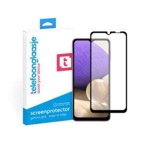 Samsung A32 screenprotector met verpakking Telefoonglaasje